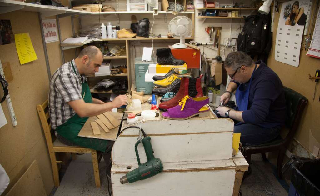 London workshop for custom-made orthotics