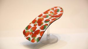 Handmade Orthotic Kids strawberry pattern