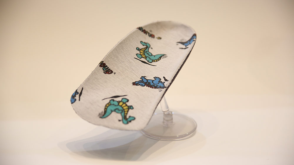 Handmade Orthotic Kids Dinosaur pattern