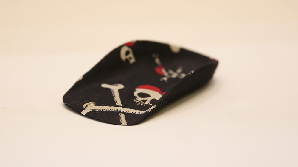 Custom-made kids pirate orthotics