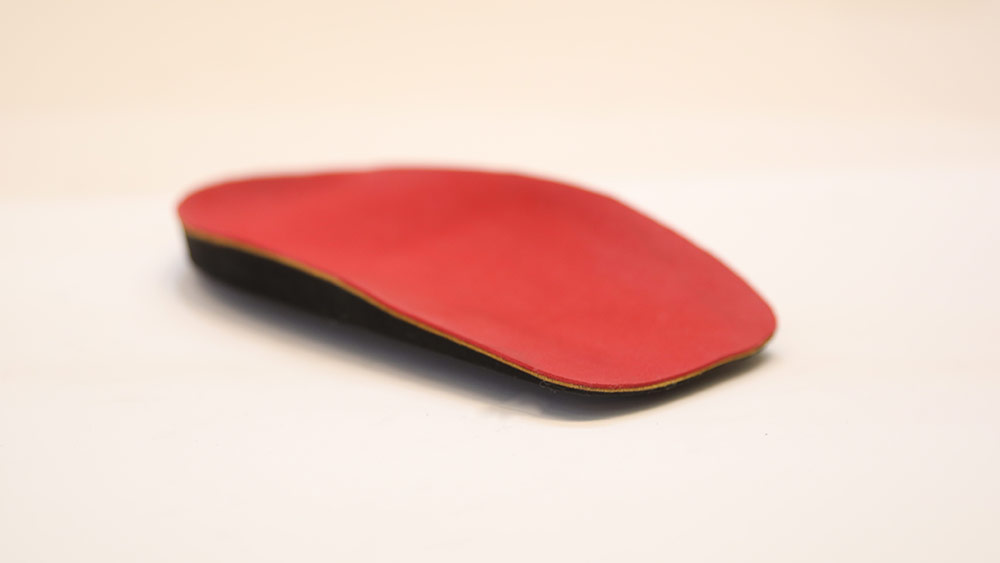 Red Foam Top Custom-made Orthotics