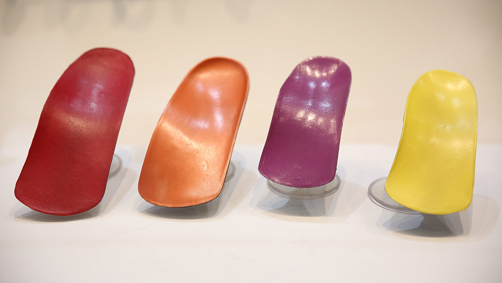 Colourful Custom-made Orthotics