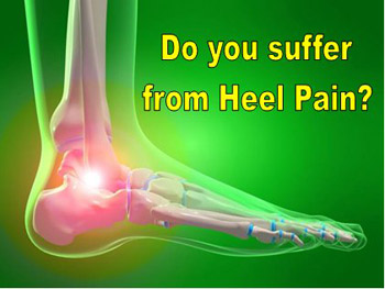 Do you suffer from heel pain?