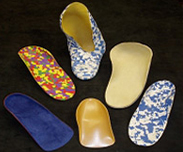 Special pattern custom-made orthotics